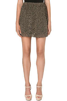MICHAEL MICHAEL KORS Floral pleated mini skirt