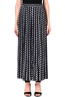 MICHAEL KORS Polka dot maxi skirt