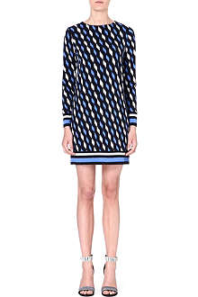 MICHAEL KORS Abstract print jersey dress