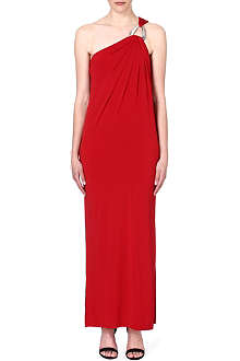 MICHAEL KORS Asymmetric maxi dress