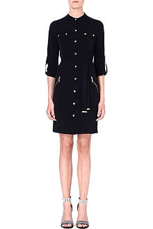 MICHAEL KORS Military jersey dress