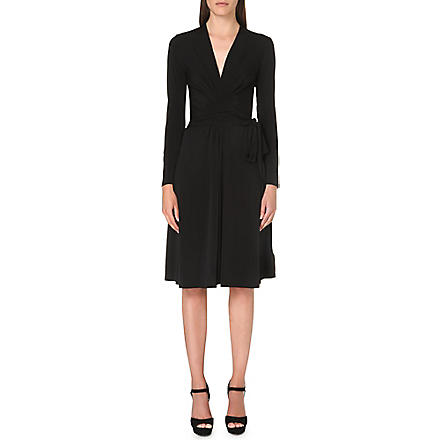 MICHAEL MICHAEL KORS Faux wrap dress (Black