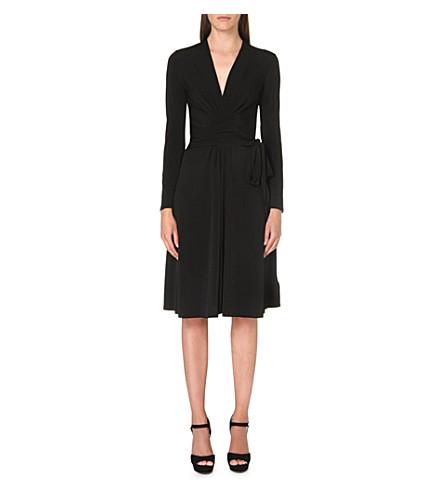 MICHAEL MICHAEL KORS Faux wrap dress (Black