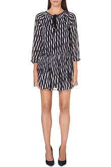 MICHAEL KORS Abstract crepe dress