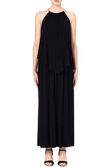 MICHAEL MICHAEL KORS Cascade chain-detail maxi dress