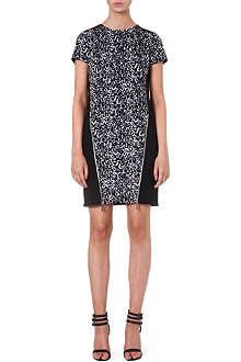 MICHAEL MICHAEL KORS Zip front animal dress