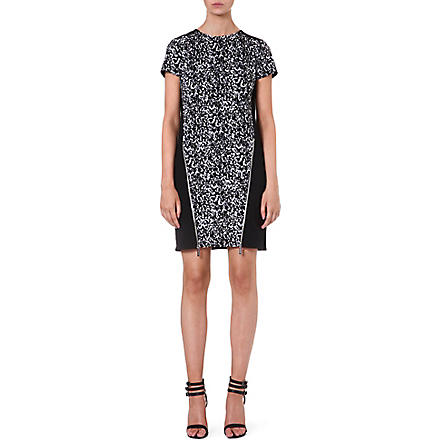 MICHAEL MICHAEL KORS Zip front animal dress (Black