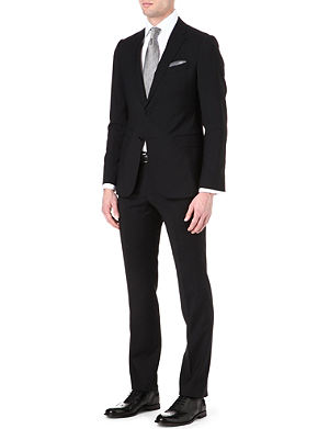 ARMANI COLLEZIONI Virgin wool single-breasted suit