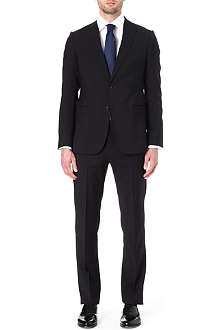 ARMANI Virgin wool single-breasted suit
