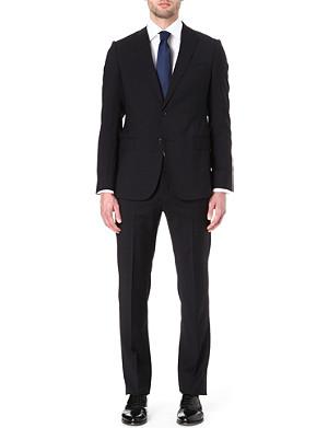 ARMANI Virgin wool single-breasted suit
