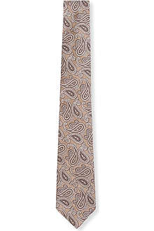 ARMANI All-over paisley tie