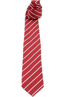 ARMANI Striped silk tie