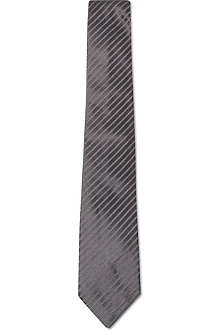ARMANI COLLEZIONI Mini-striped silk tie