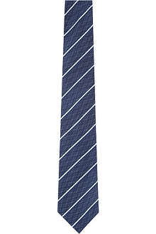 ARMANI COLLEZIONI Wide-set striped silk tie