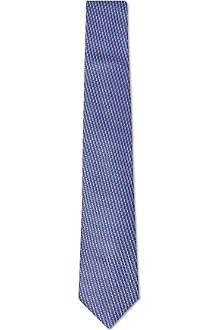 ARMANI COLLEZIONI Oval silk tie
