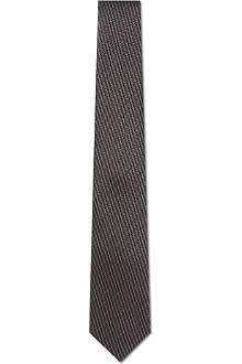 HUGO BOSS Diamond print tie