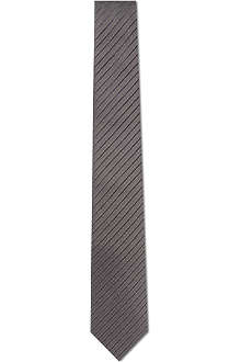 ARMANI Dot striped silk tie