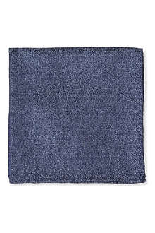 ARMANI Micro multi-fleck pocket square