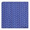 ARMANI COLLEZIONI Zigzag geometric silk pocket square