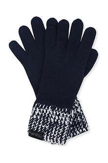 ARMANI COLLEZIONI Wool blend gloves