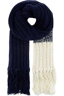 ARMANI COLLEZIONI Knitted scarf