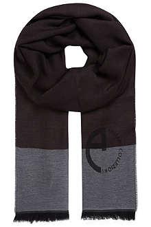 ARMANI COLLEZIONI Degraded scarf