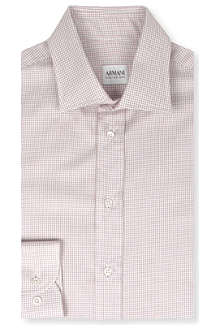 ARMANI Modern multi-grid shirt