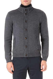 ARMANI Button-through cardigan