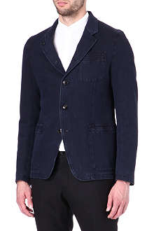 ARMANI Denim button-through jacket