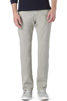 ARMANI COLLEZIONI Garbadine cotton chino trousers