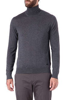 ARMANI Roll-neck jumper