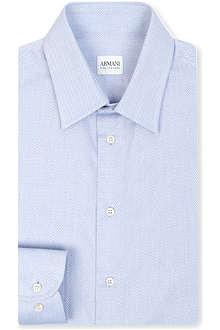 ARMANI Modern fit single cuff shirt