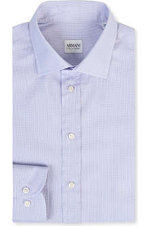 ARMANI Mini text stripe shirt