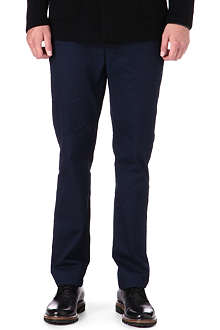 ARMANI Regular-fit wool trousers