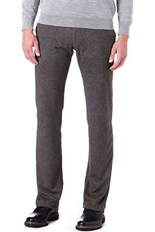 ARMANI Herringbone trousers