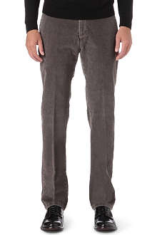 ARMANI Regular-fit corduroy trousers