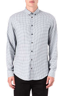 ARMANI Gingham check shirt
