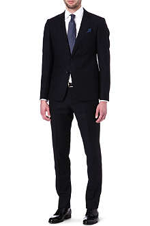 ARMANI Trend tonal-striped suit