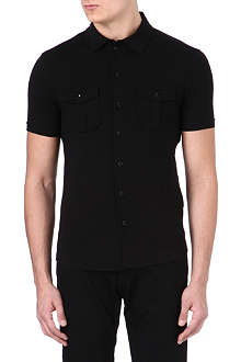 ARMANI Stretch-jersey shirt