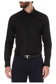 ARMANI Covered-button shirt