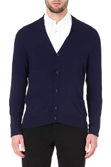 ARMANI Shawl collar cardigan