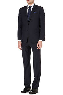 ARMANI Micro dot wool suit