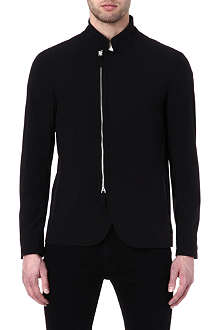 ARMANI Asymmetric zip jacket