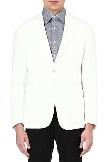 ARMANI Deconstructed linen jacket