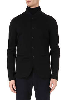 ARMANI Jersey button-through jacket