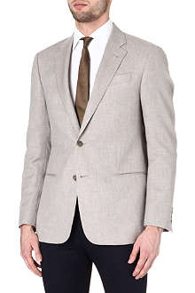 ARMANI Giorgio cotton and cashmere-blend jacket