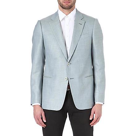 ARMANI Trend woven jacket (Turquoise