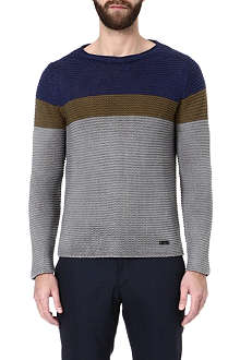 ARMANI Striped jumper