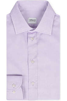 ARMANI Stretch-cotton shirt