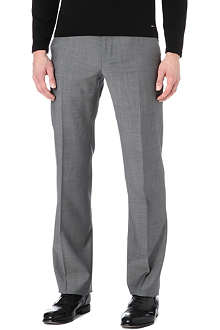 ARMANI Tapered wool trousers